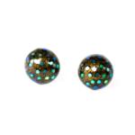 piercedearrings_ tortoiseshell_dots